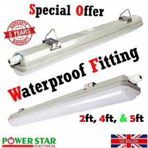 Led Batten Fitting Waterproof IP65 Commercial Surface mount